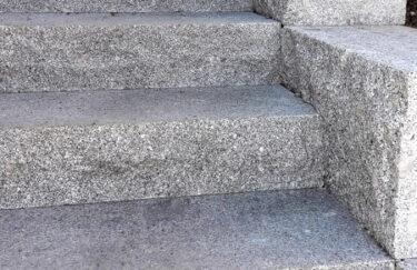 Trappe av granitt bygget av TREST entreprenør i Oslo og Akershus
